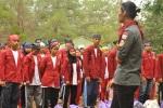 Lagi pengarahan Peserta LDKPO Angkatan 2011
