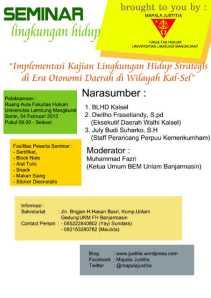brosur seminar LH
